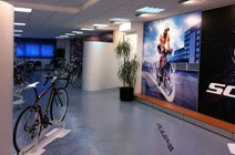 Scott Bikes showroom