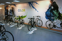 Scott Bikes urban showroom